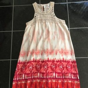 Charming Charlie Embroidered Dress - S